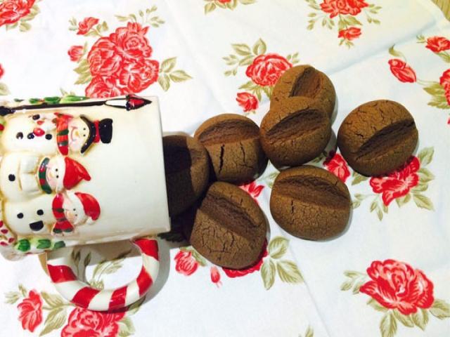 یک شیرینی خاص : کوکی دانه قهوه