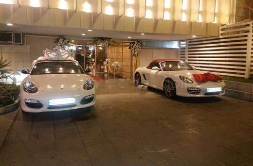 two-porsche-for-the-bride-and-groom