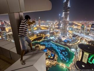 عکاسی پر از هیجان در ارتفاع