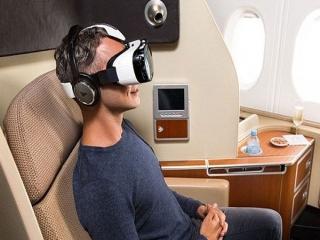 اختراع هدست برای از بین بردن حالت تهوع در هواپیما