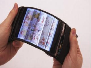 توسعه اولین گوشی هوشمند انعطافپذیر جهان