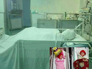 زن باردار در اتاق عمل سوخت و به کما رفت