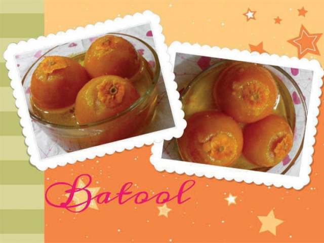 یک مربای دیدنی : مربای پرتقال درسته
