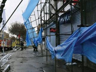 طوفان در مشهد حادثه به پا کرد