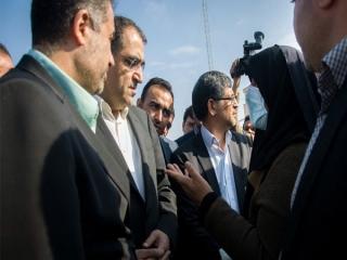 وزیر بهداشت وارد استان سمنان شد