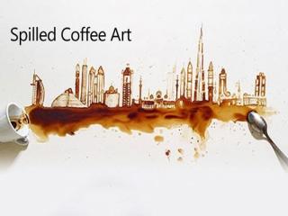 طراحی با قهوه اثر Giulia Bernardelli