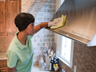 بهترین روش برای تمیز کردن هود آشپزخانه
