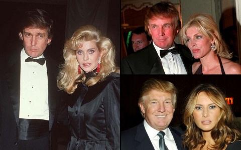 همسران ترامپ