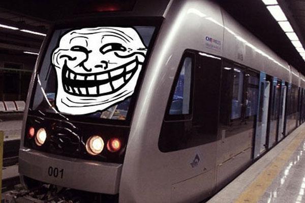Humorous poem about Metro