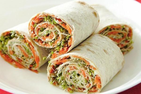Spiral-sandwich-vegetables