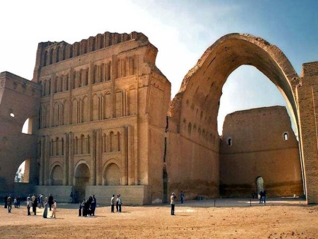 تیسفون، پایتخت ایرانی در عراق