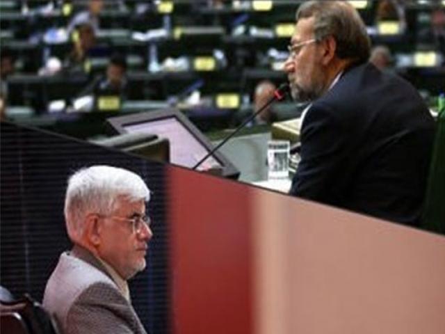 یکی از نزدیکان عارف توافق برای ریاست علی لاریجانی را تکذیب کرد