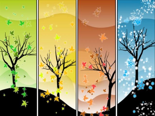 شعر زیبای چهار فصل