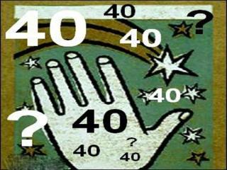با اسرار نهفته در عدد 40 آشنا شوید