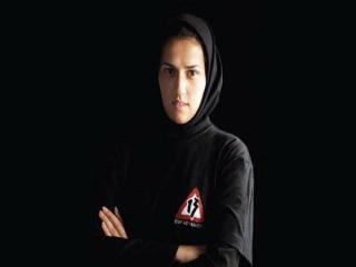 بانوی بدلکار ایرانی در فیلم جیمز باند