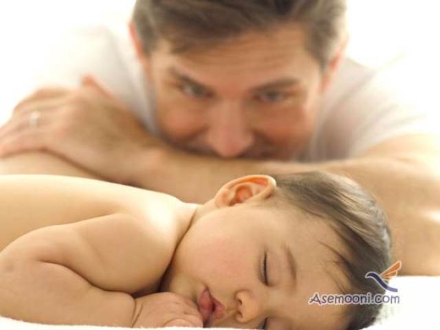 عکس هایی از عشق پدر به فرزند