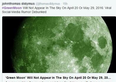 ماه سبز