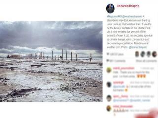 کامنت های طنز کاربران زیر پست لئوناردو دی کاپریو +تصاویر
