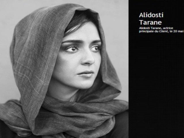 پرتره ترانه علیدوستی و اصغر فرهادی