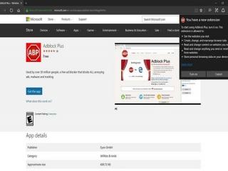 AdBlock و AdBlock Plus به مایکروسافت اج افزوده شد