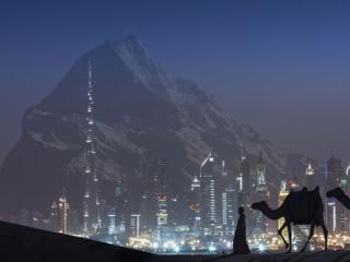 خبر باوردنکردنی، ساخت کوه مصنوعی در دبی