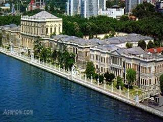 کاخ های دلما باغچه استانبول ترکیه