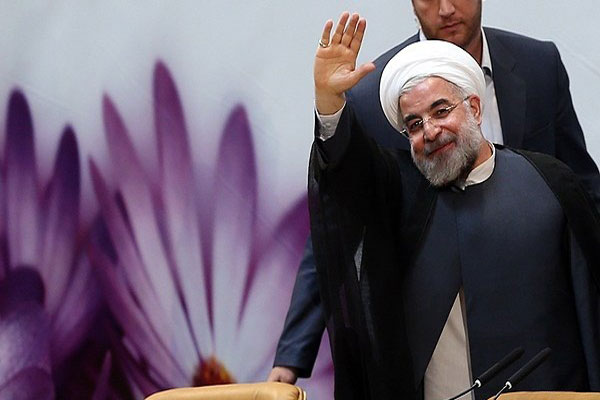 Potential competitors Hassan Rouhani in '96