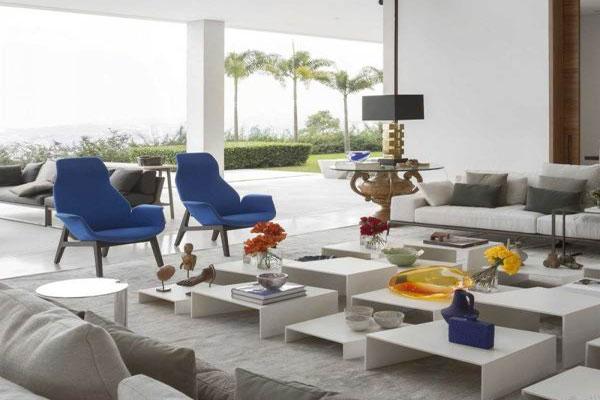 The modern and luxurious Villa interior decoration (12)