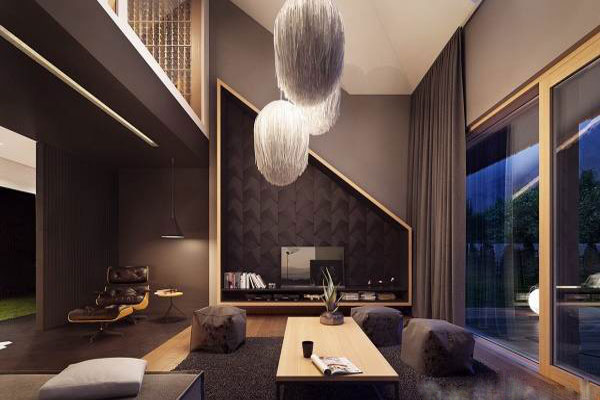The modern and luxurious Villa interior decoration (15)