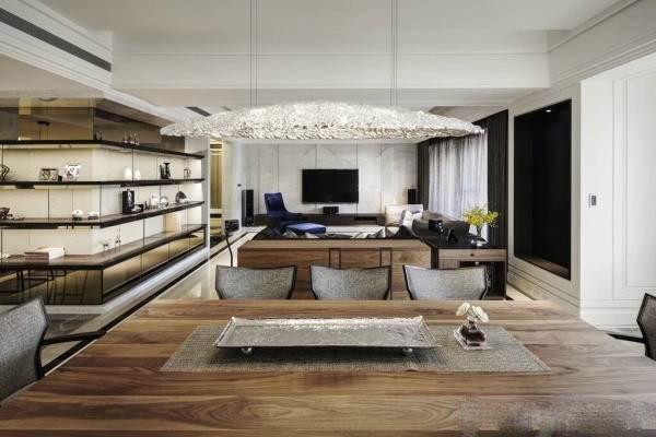 The modern and luxurious Villa interior decoration (2)
