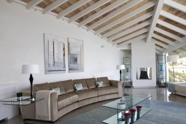 The modern and luxurious Villa interior decoration (5)
