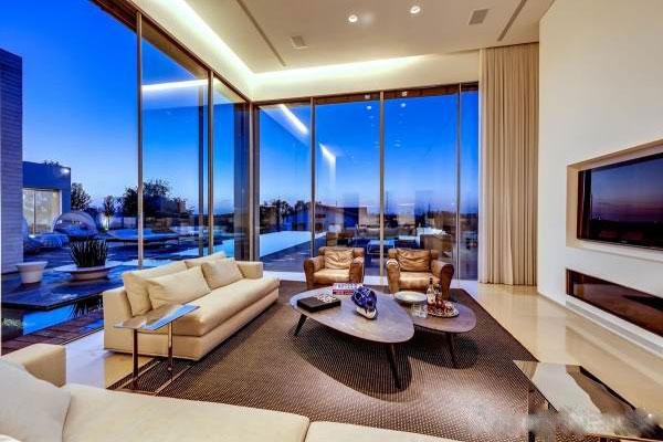 The modern and luxurious Villa interior decoration (6)