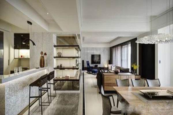 The modern and luxurious Villa interior decoration (7)