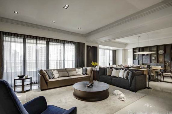 The modern and luxurious Villa interior decoration (8)