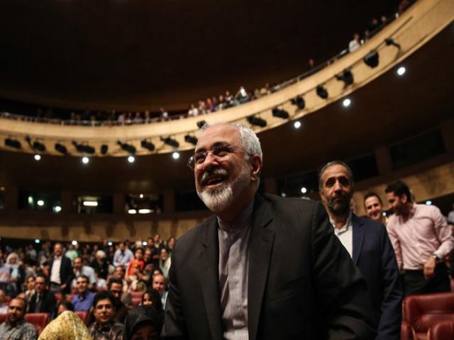 آقای ظریف در کنسرت