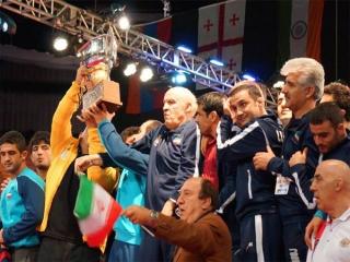 تیم کشتی قهرمان جام جهانی شد