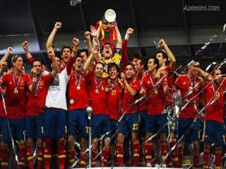 اسپانیا قهرمان اروپا شد