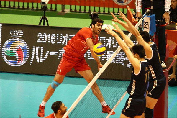 Iran 2 - China 1, only one set to Rio (3)