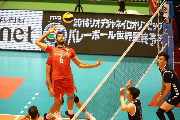Iran 2 - China 1, only one set to Rio (4)