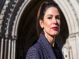 کریستینا استرادا از همسر عربستانی خود طلاق گرفت