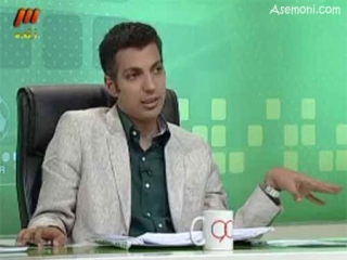 برنامه نود 1392/02/09 انتقاد فردوسی پور از چمن ورزشگاه آزادی