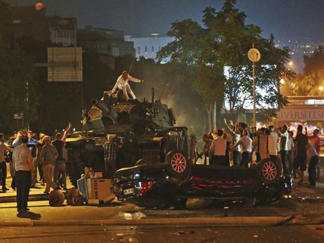 جزئیات کودتای شب گذشته در ترکیه