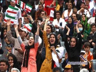 زنان بازداشت شده در ورزشگاه آزادی آزاد شدند