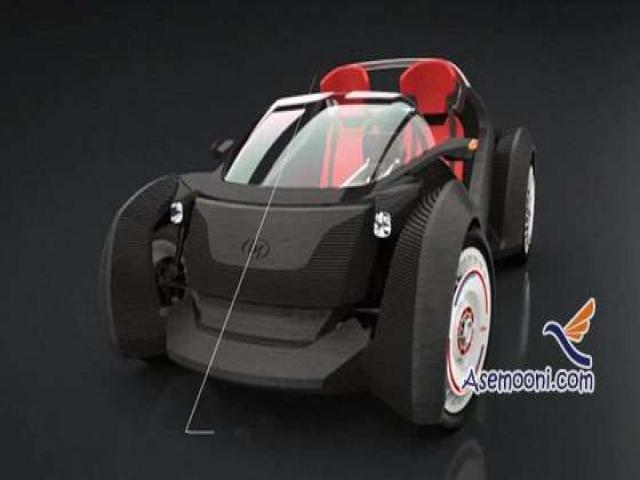 ساخت نخستین خودرو چاپ سه بعدی جهان