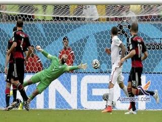 آلمان 1 آمریکا 0 - گزارش بازی جام جهانی