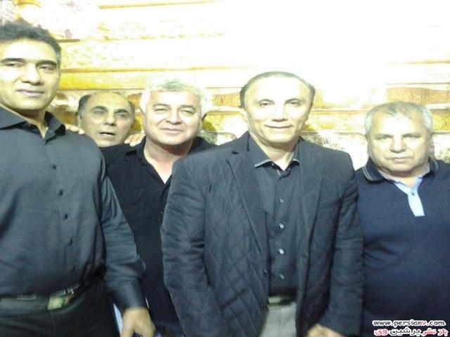 بازیگران،ورزشکاران و چهره های معروف در مراسم عزاداری امام حسین(ع)
