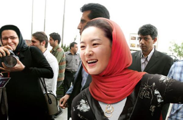 لی یونگ آئه در تهران