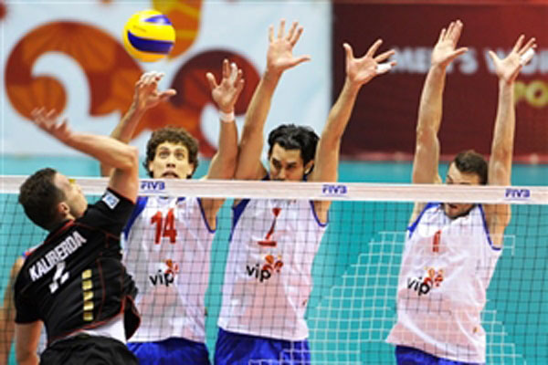 Serbia won the Volleyball World League