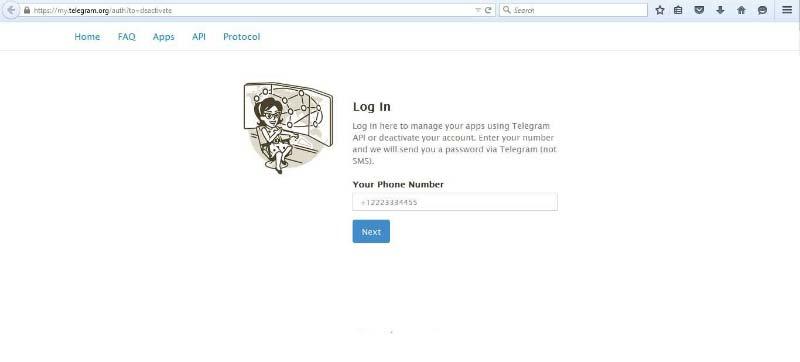 اکانت تلگرام