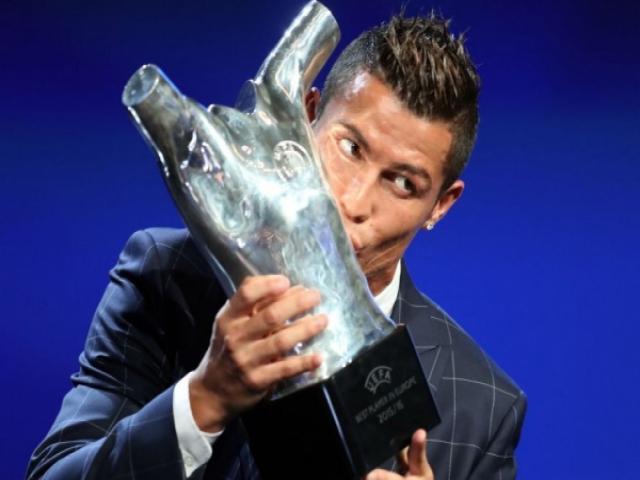 رونالدو مرد سال فوتبال اروپا شد
